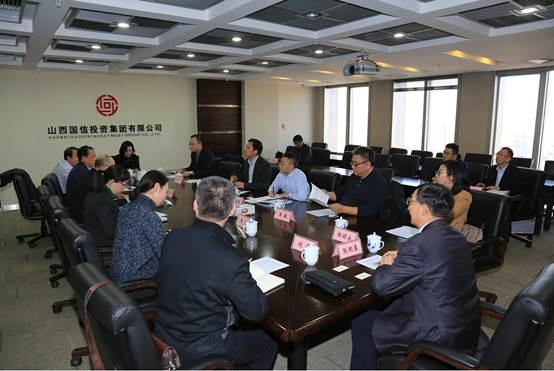 清华控股有限公司党委副书记、副总裁赵燕来一行来访