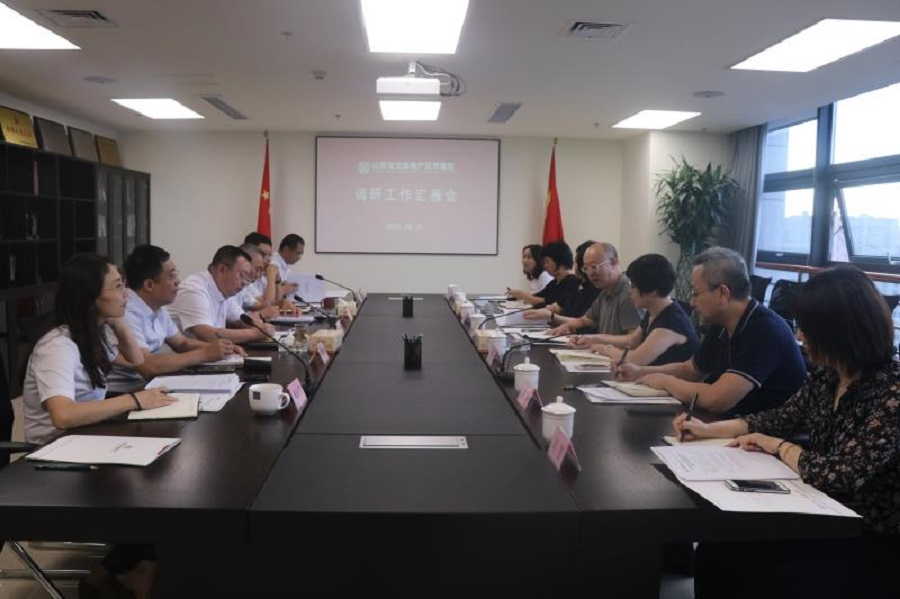 山西金控集团党委委员、副总经理曹煜赴山西光信调研指导工作