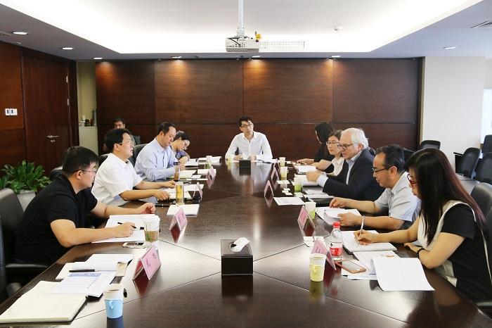 山西金控集团党委书记、董事长张炯玮会见德国QUANT代表团一行