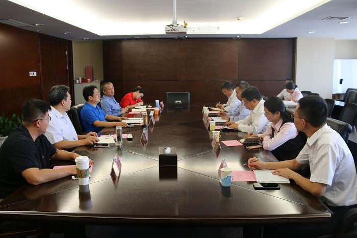 山西金控集团党委书记、董事长张炯玮会见招商银行太原分行行长一行