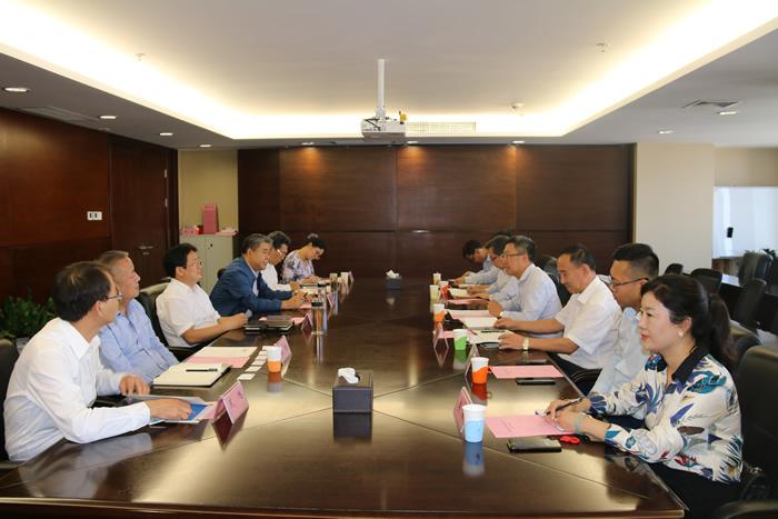 山西金控集团党委书记、董事长张炯玮会见 民生银行太原分行行长一行