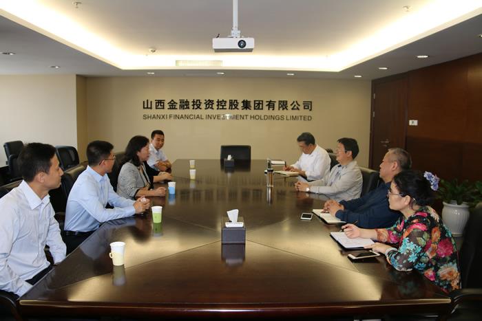 山西金控集团党委书记、董事长张炯玮会见 交通银行山西分行行长一行