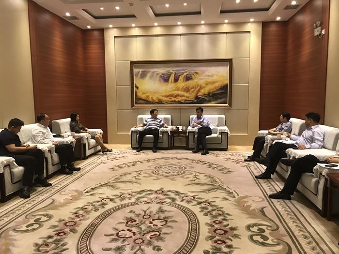 山西金控集团党委书记、董事长张炯玮一行赴晋能集团访问